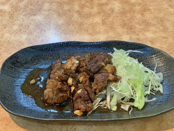 国産牛すじ炒め(テイクアウト)