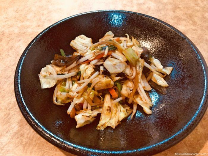 野菜炒め(テイクアウト)