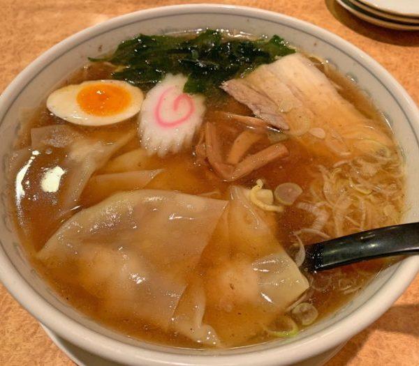 ワンタンメン(醤油・塩)(テイクアウト)